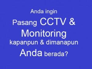 Jasa Pemasangan CCTV Camera
